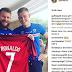 Islandia, Jersey Cristiano Ronaldo Akhirnya Di Perlihatkan Oleh Gunnarsson