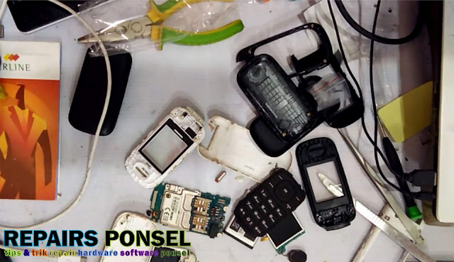 Cara Ganti Casing & Fleksibel Samsung Lipat E1272