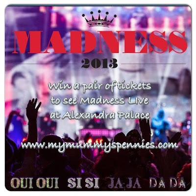 win tickets to see madness at Alexandra Palace