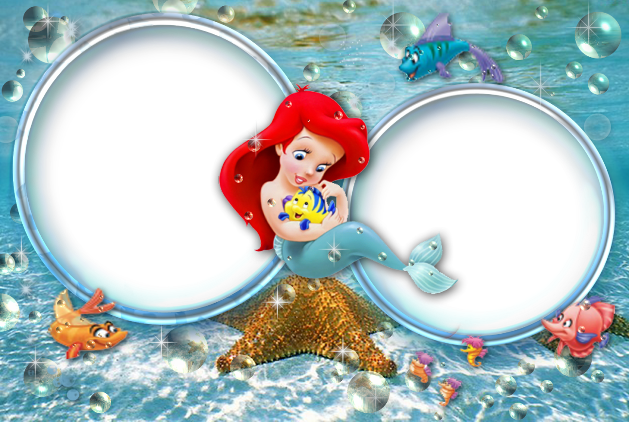Invitaciones o Marcos para Fotos de las Princesas Disney para ...