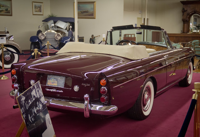 1964 Rolls-Royce Silver Cloud III Continental Mulliner Park Ward Drophead Coupe