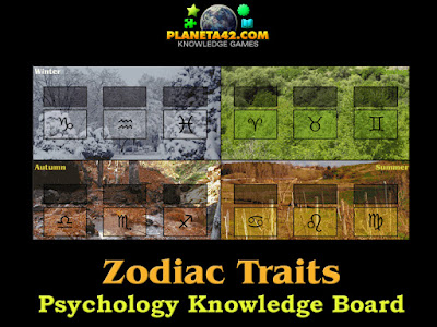 Zodiac Traits Puzzle