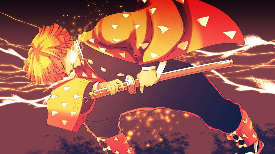 Demon Slayer Zenitsu Gif