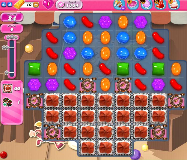 Candy Crush Saga 1864