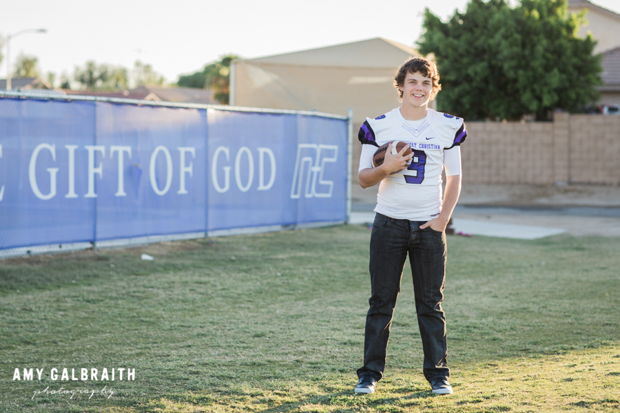 christian quote and football player