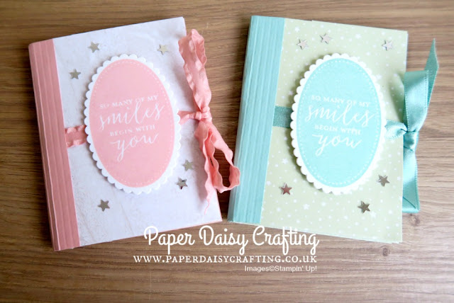 Stampin Up Mini Albums
