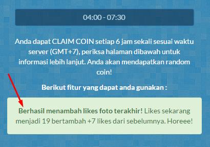 Cara auto followers dan auto like foto instagram menggunakan Indofoll