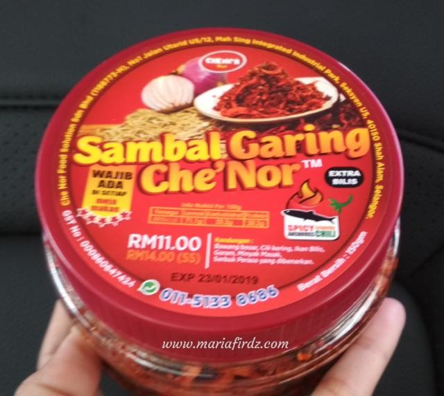 Sedap Juga Makan Nasi Dengan Sambal Garing Che' Nor
