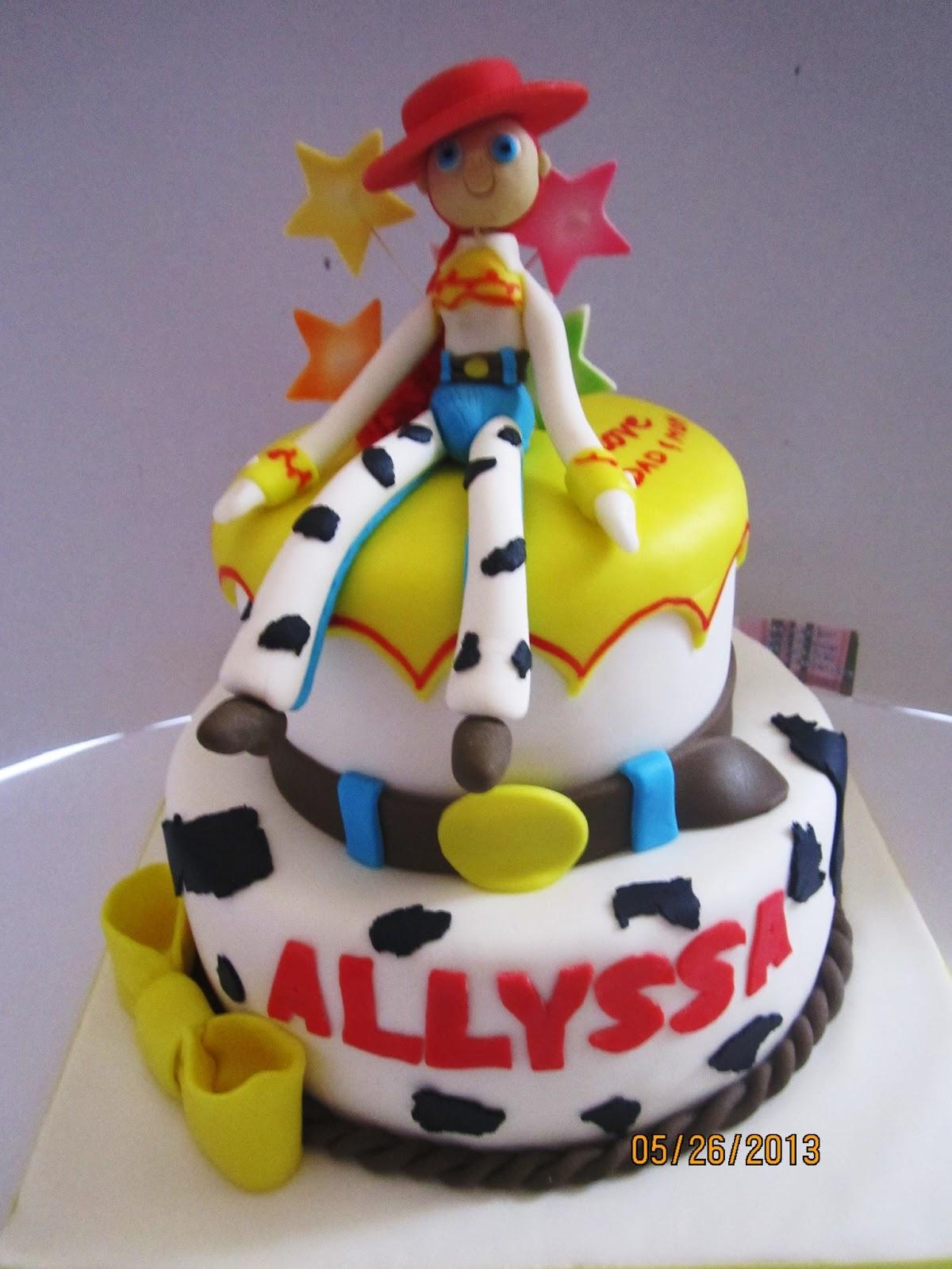 Toy Story Jessie Cake Ideas