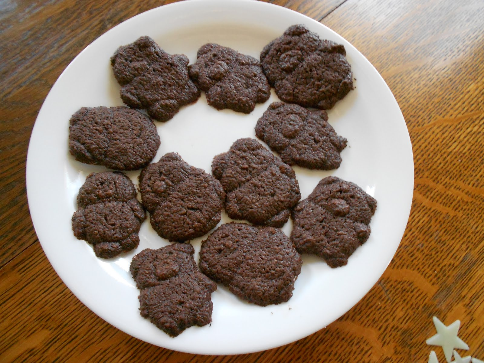 Almost Unschoolers Homemade Chocolate Teddy Grahams