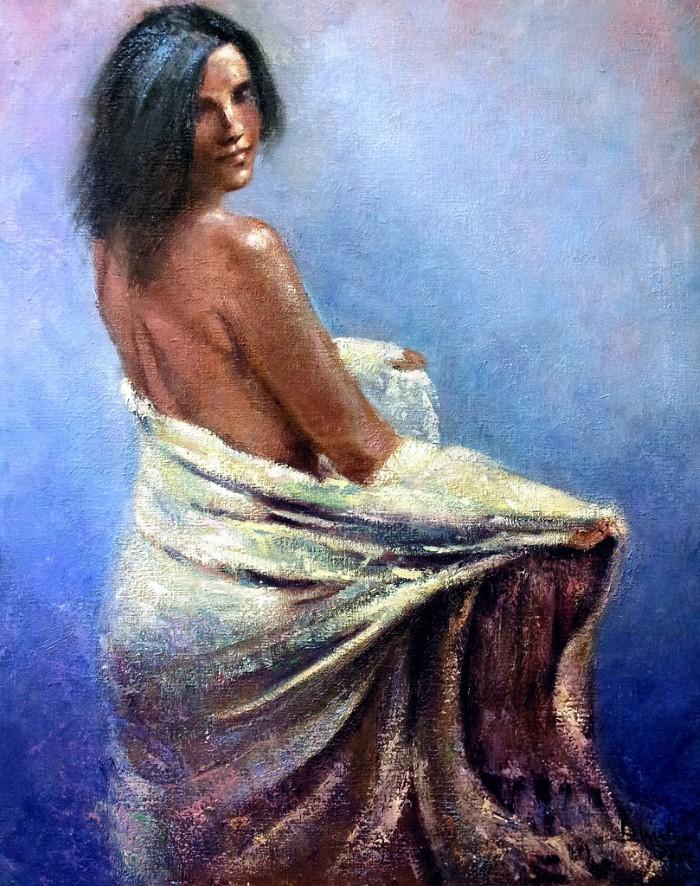 Современная испанская художница. Basi Mateo 11