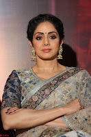 Sri Devi in designer saree stunning beauty at the launch of MOM movie Trailer~  Exclusive 080.JPG