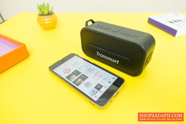 tronsmart water resistant bluetooth speakers