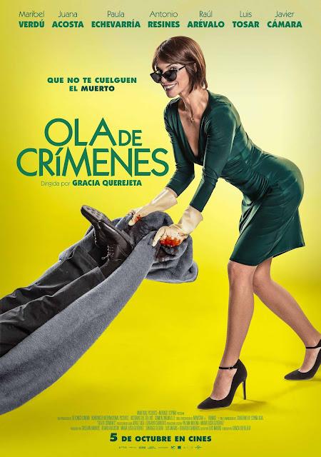 poster oficial ola de crímenes