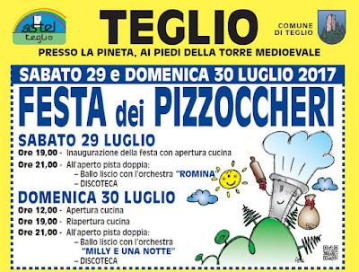 Festa dei Pizzoccheri 29-30 luglio Teglio (SO)
