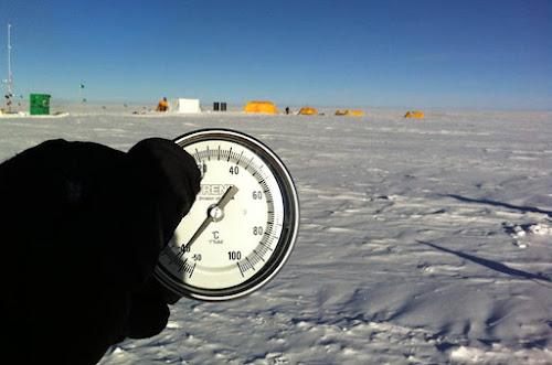 Lugar mais frio do mundo