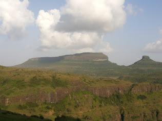 Chandwad mountain view