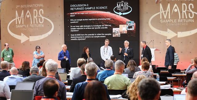 2nd International Mars Sample Return conference, Berlin, April 25 - 27, 2018. Image Credit: Thomas Rafalzyk (for European Space Agency)