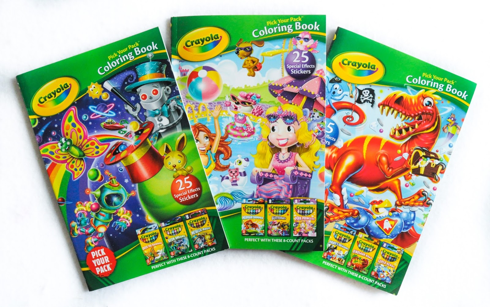 Crayola Pick Your Pack Coloring Books Jenny S Crayon
