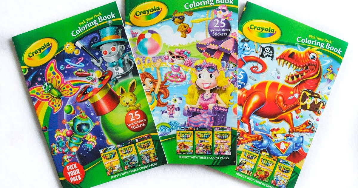 Crayola Pick Your Pack Coloring Books