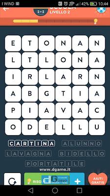 WordBrain 2 soluzioni: Categoria Scuola (6X6) Livello 2