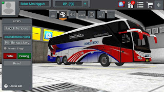 Review Livery Bus Borlindo dari Scania K360 + Link Download Livery Bus BUSSID Borlindo Scania k360