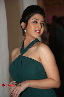 Actress Shriya Sharma Pictures in Long Dress at Nirmala Convent Audio Launch 0091