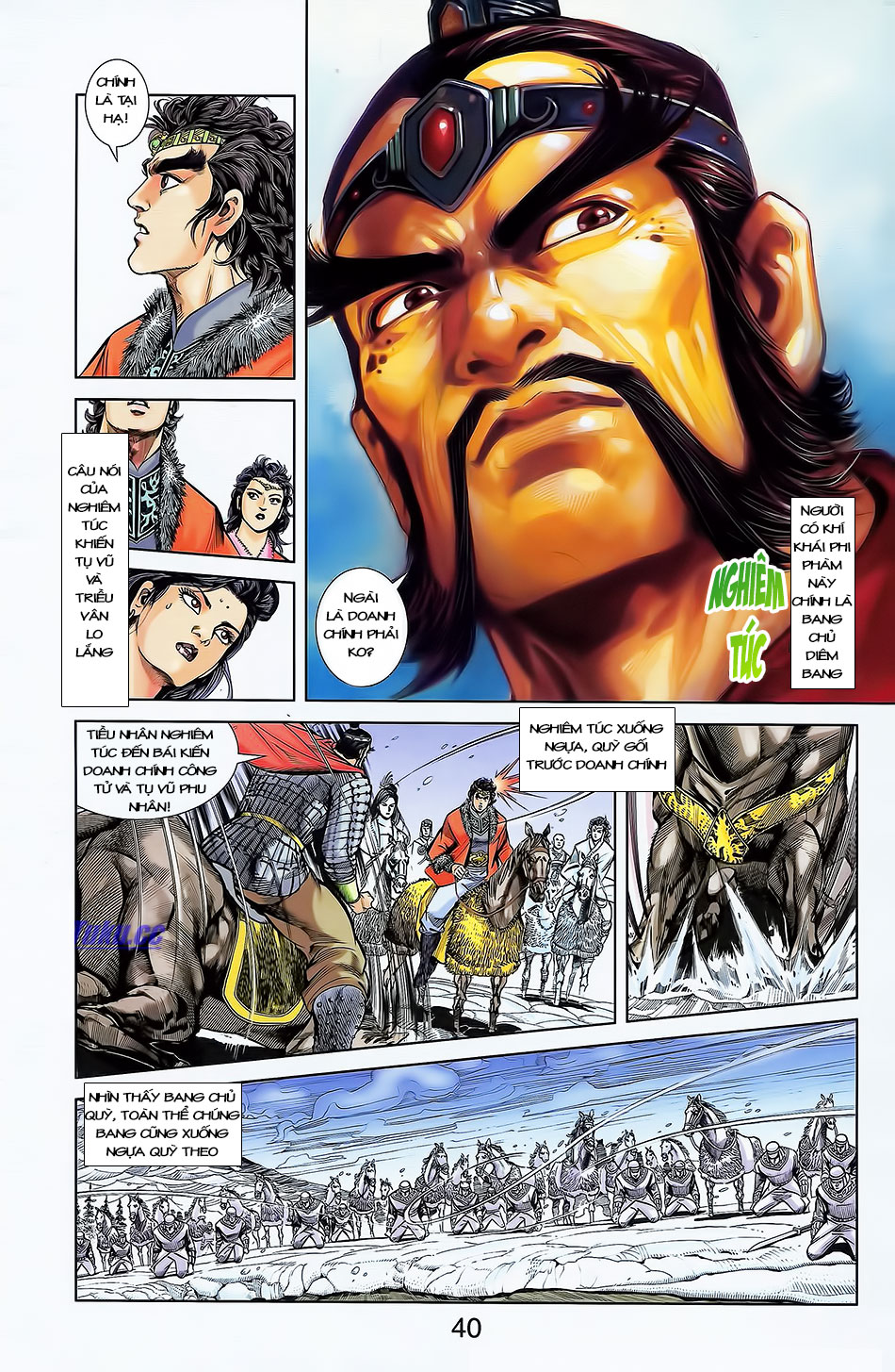 Tần Vương Doanh Chính chapter 4 trang 11
