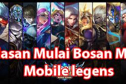 5 Alasan Kenapa Mulai Bosan Main Mobile Legends