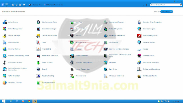 Windows 7 Aero SX Edition (x64) 2015 - عالم التقنيه