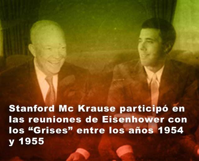 Eisenhower y el piloto del Área 51