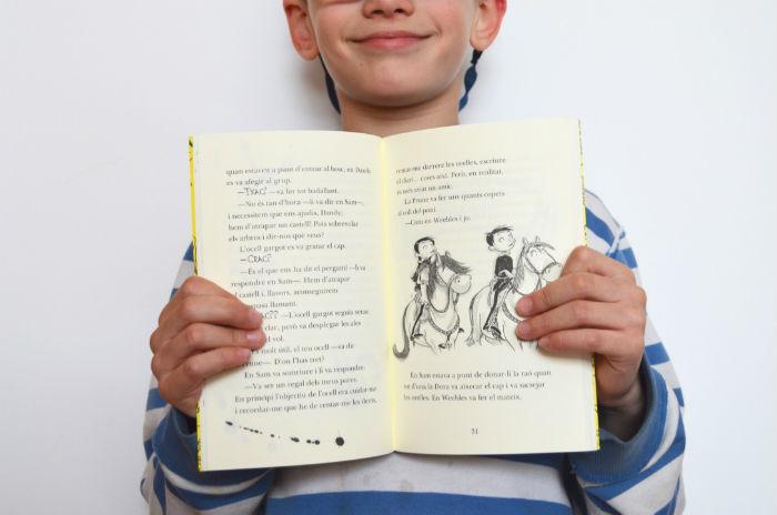 colección aprendiz de caballero libros infantiles con capítulos interior