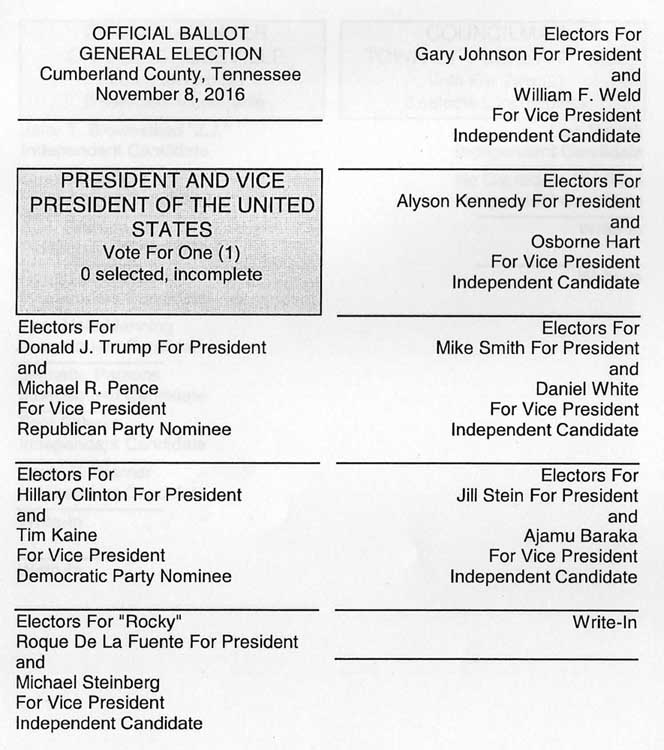 showing 3rd image of Cumberland County Sample Ballot 2018