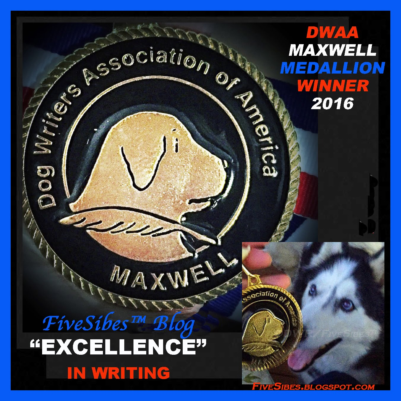 DWAA Maxwell Medallion Recipient