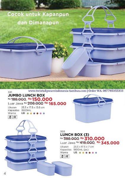 Promo Diskon Jumbo Lunch Box, Lunch Box Oktober 2017