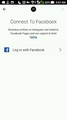 Instagram connect to facebook