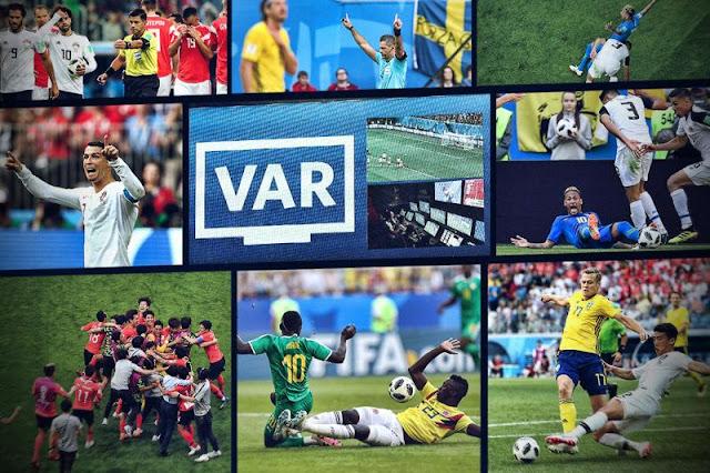 memperlihatkan reaksi paling keras pada penggunaan teknologi video di Piala Dunia  VAR : Peninggalan Piala Dunia 2018 yang Masih Terngiang