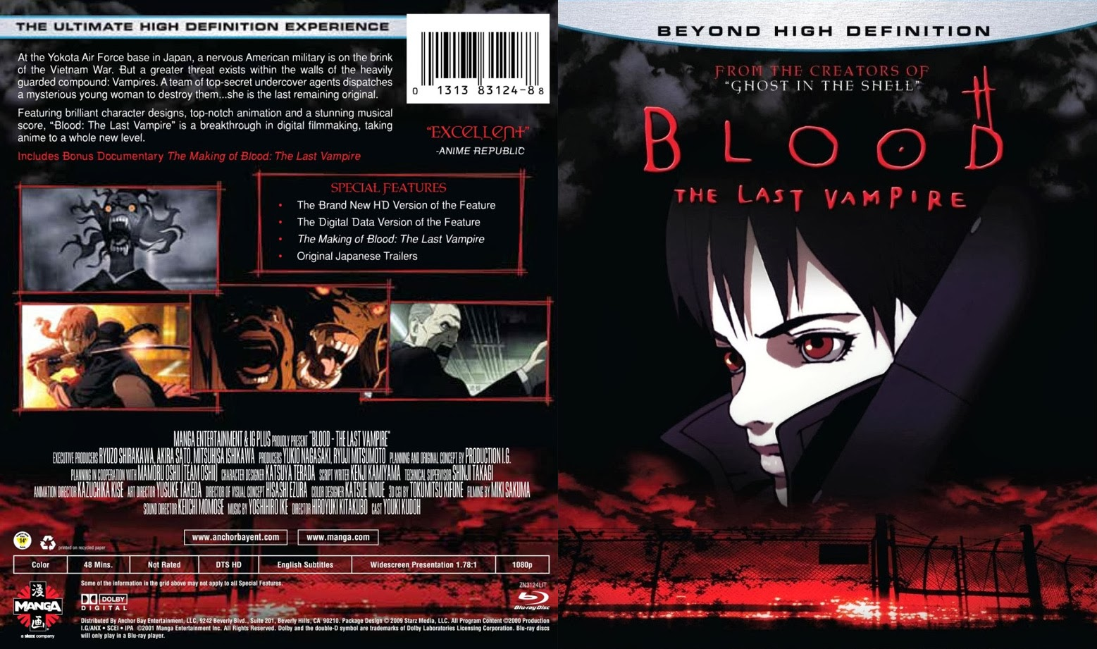 Movie poster of the week: - Blood: The Last Vampire Images ...