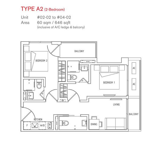 8 Farrer Suites Floor Plan