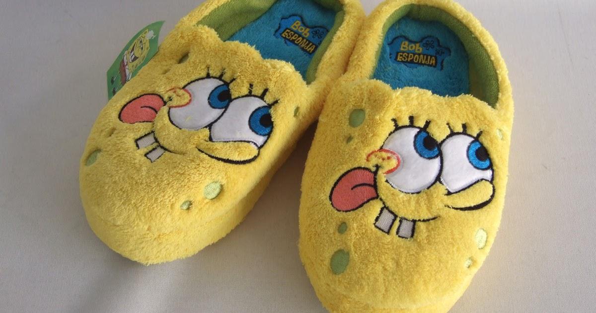 Bob Esponja Sonriente: Zapatillas Bob Esponja
