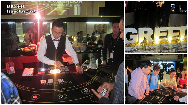Gambling at Moët Hennessy Diageo Media Appreciation Night