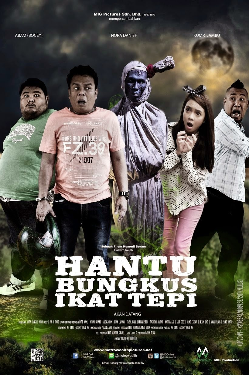 Hantu Bungkus Ikat Tepi 2015 Full Movie