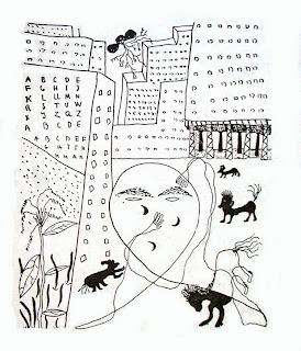 Perspectiva humana con autorretrato - Federico García Lorca