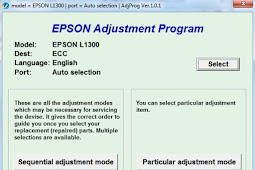 Epson L1300 Resetter Download