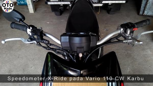 Vario CW Karbu Pakai Post Comp Beat Street dan Speedometer X-Ride