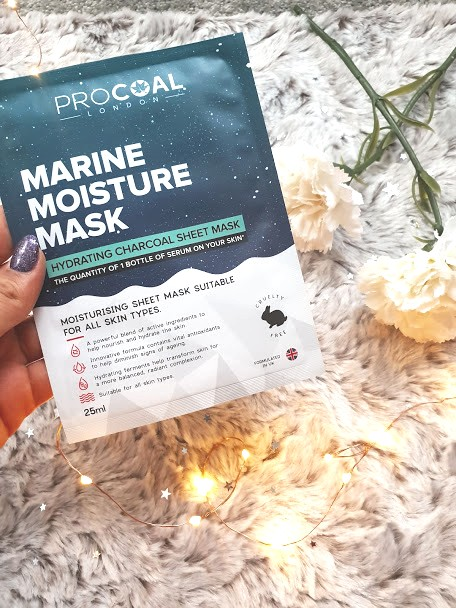 ProCoal Marine Sheet Mask