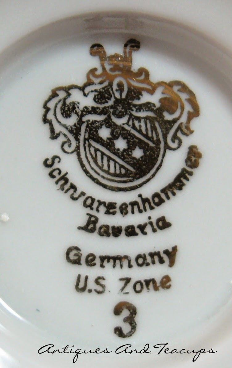 Antiques And Teacups: Tuesday Cuppa Tea, US Zone Teacups