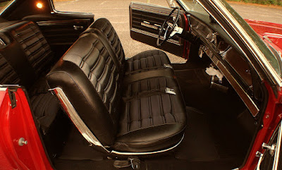 1966 Chevrolet Caprice Coupe Interior Seats