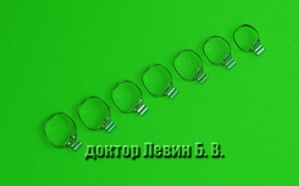 установка стальных ортодонтических колец
