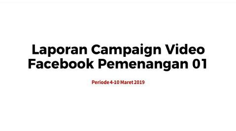 Strategi Jahat Kampanye Video Paslon 01 Bocor?